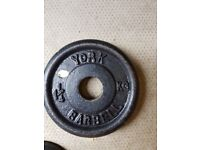 Cast Iron Weights/Plates