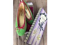 French Sole Designer Flat Ballet Shoes