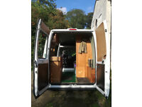 MWB, medium height, turbo diesel, economical, comfortable multi functional camper van