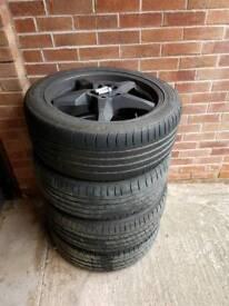 Part worn tyres. 245 45 19r