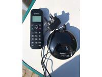 Landline telephone handset
