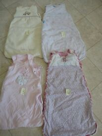 Baby Sleeping Bags (9 no.) – Various Ages and Togs
