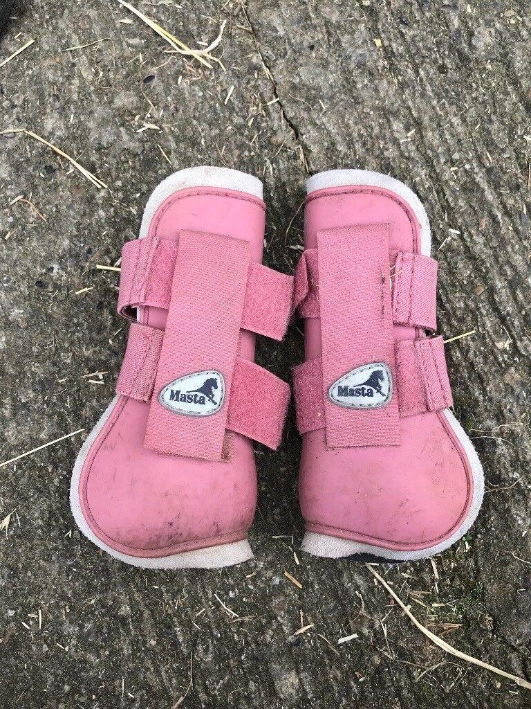 Masta Pink Tendon Boots