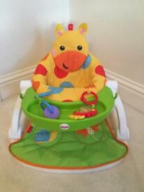 Fisher-Price Giraffe Sit-Me-Up Feeding Booster