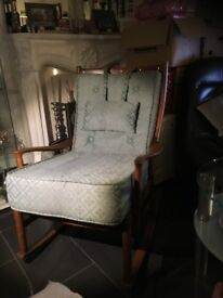 Parker knoll rocking chair £85.00 ono