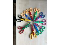 10 x FancyEdged Craft Scissors