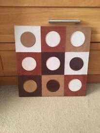 Circles picture frame