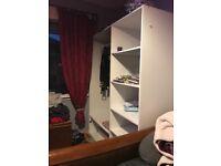 Triple wardrobe