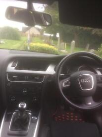 Audi A4 S line 08 plate