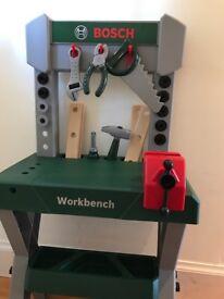 Bosch workbench and drill set