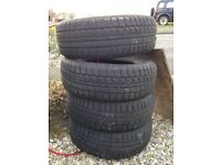 4 x Bridgestone Blizzak LM30 Winter Tyres 195/60/15 £80.00 View Consett or Washinton