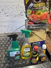 Gardening items job lot