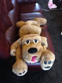 Large Toy Dog as New Fun Loveable Family item