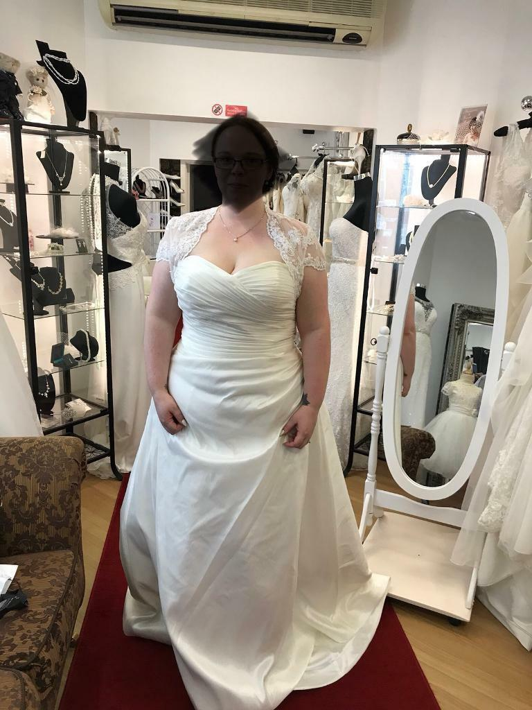 Never worn wedding dress (size 24) | in Northampton ...