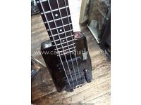 ON SALE, HOHNER HEADLESS 4 STRINGS BASS WITH DROP D KEY. £389