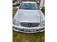 Mercedes-Benz, CLK, Coupe, 2008, Semi-Auto, 2148 (cc), 2 doors