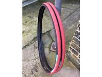 Racer tyres Vittoria 3D Compound, Red black Tread,