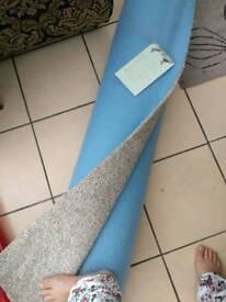 Brand new carpet ( 4 m x3 m) In a roll