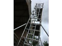 BOSS YOUNGMAN NARROW EVOLUTION MK3 SCAFFOLD TOWER 6.2M WH