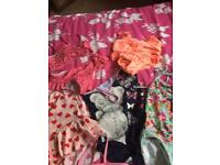 6 items of swim wear ages 7-8
