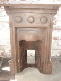 Edwardian cast iron fireplaces, Vintage / Antique. Best offer for 2 ??, selling as scrap on Monday