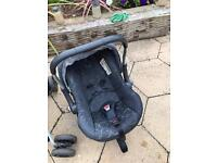 Pushchair and carrier