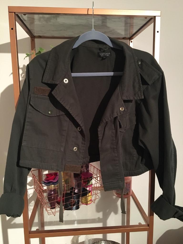Topshop Karki jacket
