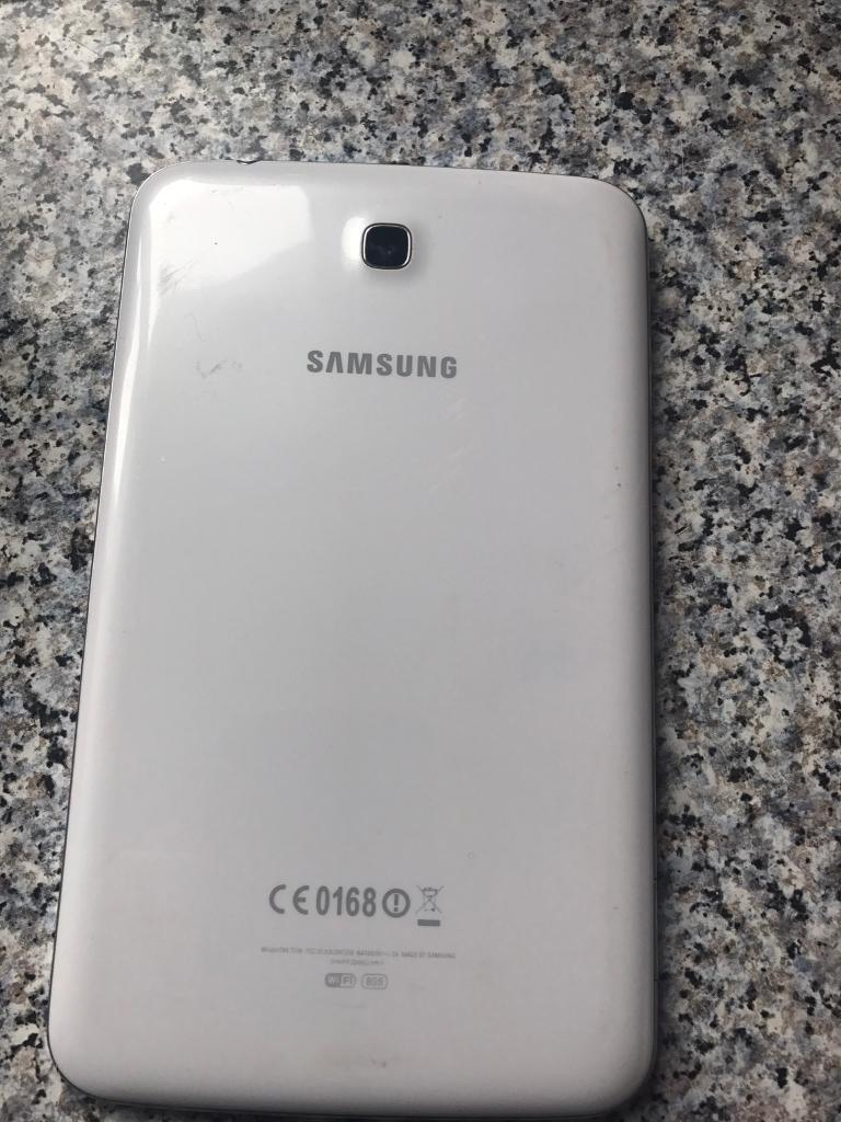 Samsung galaxy tab3in Rumney, CardiffGumtree - 7inch samsung galaxy tab3, few minor scratches but doesnt effect use! collection only £60 or nearest offer