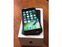 iPhone 7 Matt Black 128gb Unlocked excellent condition With 6 Months of Warranty