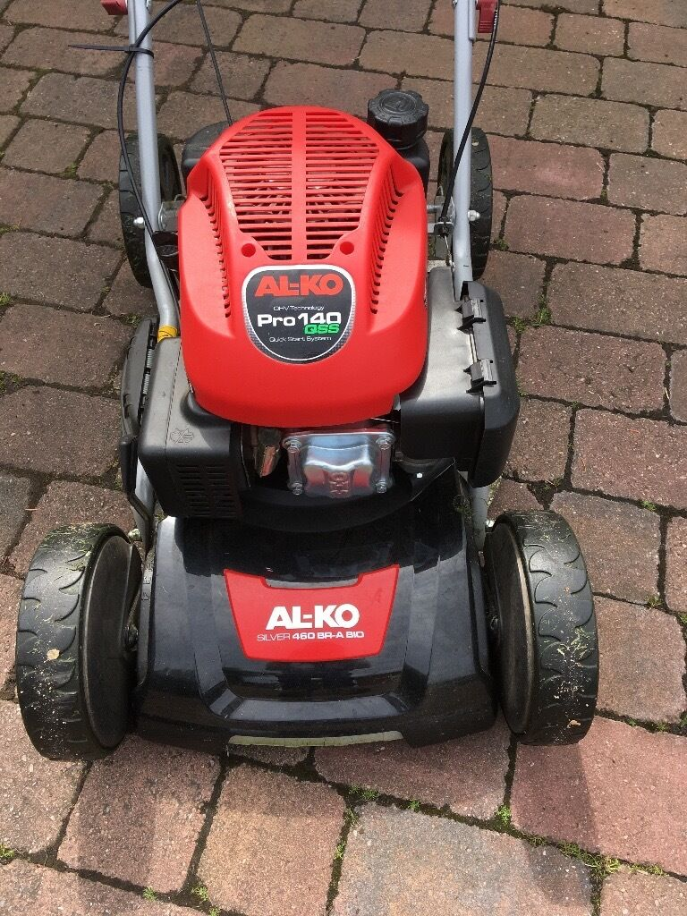 al ko pro 140 qss mulching lawn mower in peterlee