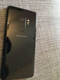 New Samsung S9+ 64gb mobile for sale