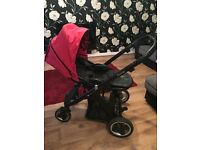 Oyster Pushchair, Carry Cot & Car Seat (with all accessories)