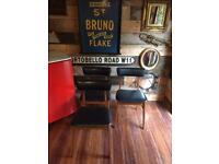 VINTAGE/ANTIQUE MID-CENTURY SCHREIBER DINING CHAIRS X 4 GREAT PRE-LOVED CONDITION FREE DELIVERY