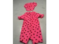 Baby girl swimsuits 6-9 months