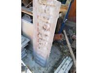 Concrete panel shed/garage