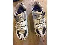 SHIMANO CYCLING SHOES R087 SIZE 8 GREAT CONDITION