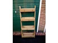 Step ladder herb garden/planter