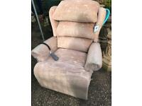 Electric riser and recliner can deliver free