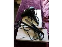 Hairdryer and straighteners