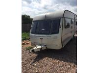 Coachman 5 berth caravan year 1998 full awning