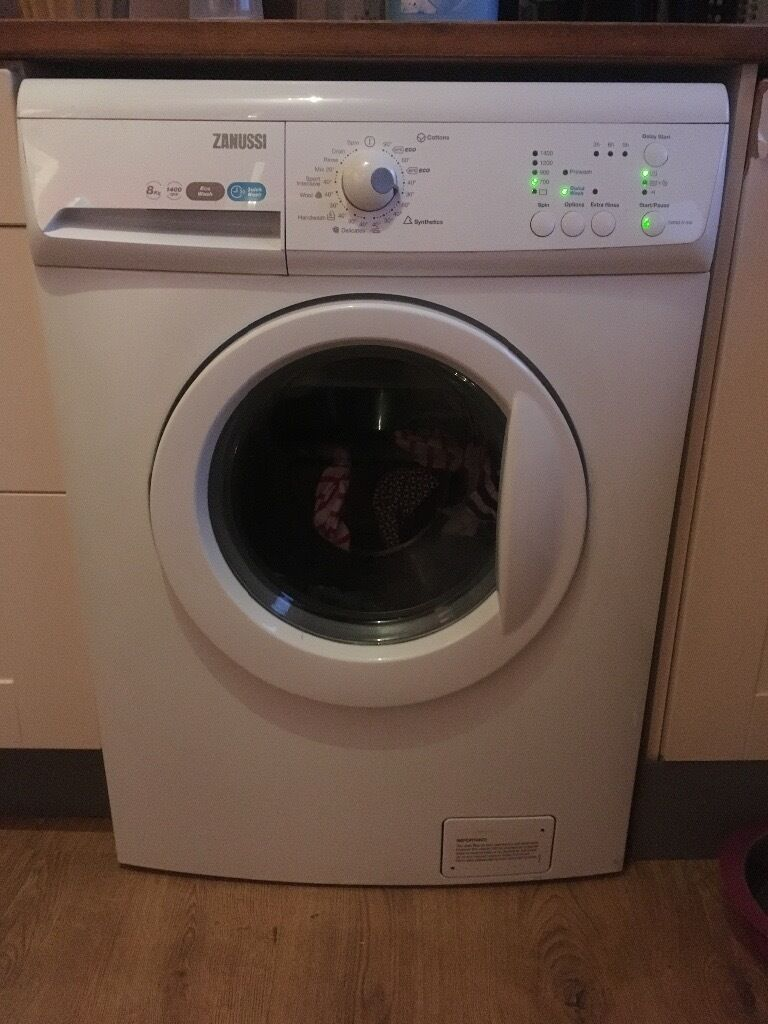 Zanussi washing machinein West Calder, West LothianGumtree - Zanussi washing machine for sale, over a year old, selling as leaving the uk, buyer must collect on Tuesday