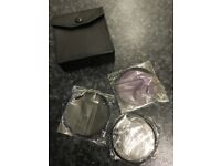 FILTERS - Set of three 67mm. Brand new and unused.