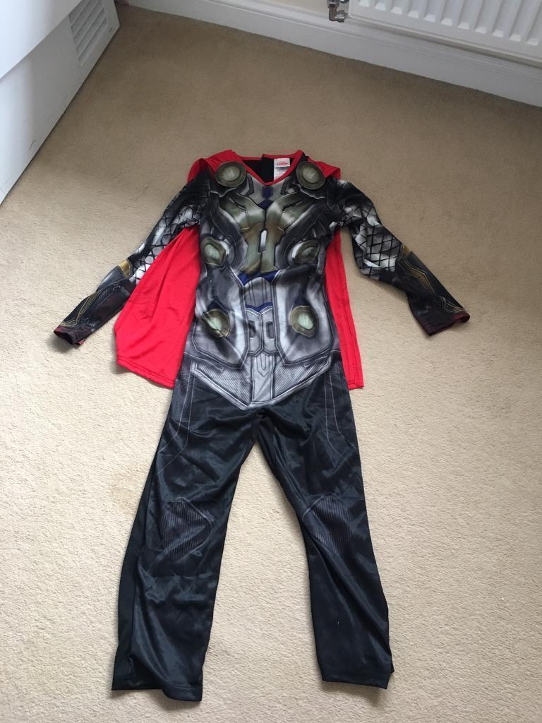Thor Dress Up Costume - Size 5-6