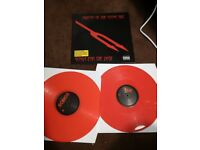 Queens of the stone age vinyl Songs For The deaf Red vinyl