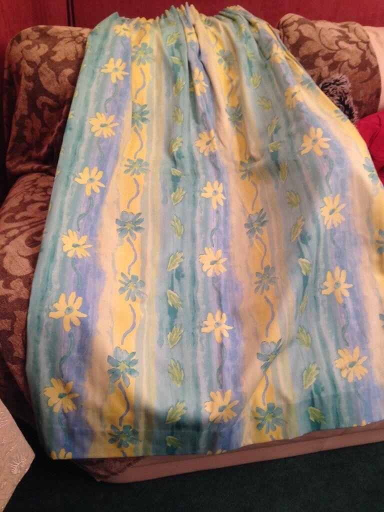 """As new curtains lovely 49"""" x 64"""" each curtain x2"""