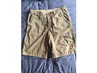 Men's Hollister shorts- Dark beige NWOT SIZE 36