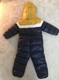 2-3 year boys snow suit