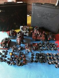 warhammer orks army and box -collection only