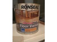 RONSEAL DIAMOND HARD LIGHT OAK SATIN FLOOR VARNISH 2.5L