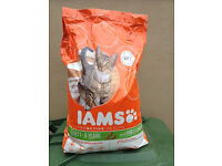 IAMS 10kg/22lb lamb and chicken cat food